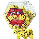 Learning Resources LER6351 Soft Foam Dot Dice Set (200 Piece)