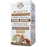 Country Farms Mighty Mushrooms Dietary Supplement, Immunity Superfood, Organic Mushrooms, 60 Servings