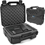 Casematix Projector Travel Case Compatible with Viewsonic PA503S , PA503W , PA503X , PG703W , PG703 Projectors , Hdmi Cable a