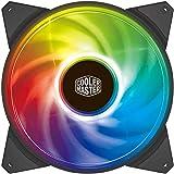 Cooler Master MasterFan 140mm Addressable RGB ARGB 140mm Fan - Black Frame - R4-140R-15PC-R1