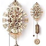 Wood Trick ウッドトリック ペンデュラムクロック/振り子時計 壁掛け時計になる3Dウッドパズル/ 木製模型