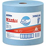 Wypall X60 Reusable Cloths (34965), Blue, Jumbo Roll, 1100 Sheets / Roll, 1 Roll / Case,KCC34965