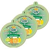 Citrus Magic Odor Absorbing Solid Air Freshener, Fresh Citrus, 8-Ounce (Pack of 3)