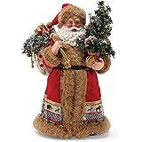 """Department 56 Possible Dreams Santas Savannah Figurine, 11"""", Multicolor"""