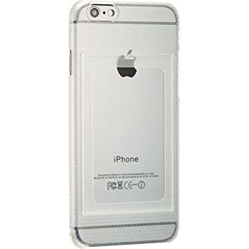 Bluevision  iPhone6用ケース OsaifuSlim for iPhone 6  非接触ICカード収納可能ハードケース Clear クリア BV-OSI6-CL