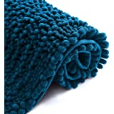 Color&Geometry Original Luxury Chenille Bath Rug Mat, 20x32 Shaggy Rugs, Soft and Absorbent, Machine Wash Dry, Non-Slip Carpe