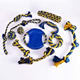 Toy Rope for Dogs, chew Toys for Small and Medium Dogs, 10-Pack Dog Rope Toys for Games and Teeth Cleaning