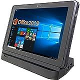 富士通 タブレット ARROWS Tab Q507/PB/MS Office 2019付き/Win 10/10.1インチ1900X1200IPSディスプレイ/WI-FI/RAM4GB/64GB SSD (整備済み品)