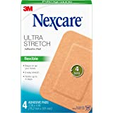 Nexcare Soft Fabric Adhesive Pad, 3 in x 4 in, 4 Pads