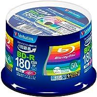 Verbatim 威寶 1次錄像用 藍光光盤 BD-R 25GB 50張 白色打印機 單面1層 1-6倍速 VBR130…