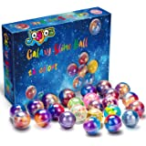 Joyjoz 24 Packs Party Favor Galaxy Putty Slime Balls, Fluffy & Stretchy Slime Easter Eggs for Girls & Boys - Non-Sticky, Stre