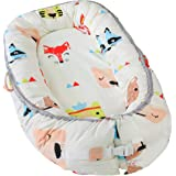Little Archer & Co.™ Newborn Baby Nest - Easy to Move, Ideal for Co-Sleeping, Breathable and Soft, 100% Cotton and Eco-Friend