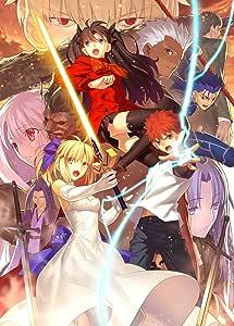 【Amazon.co.jp限定】Fate/stay night [Unlimited Blade Works] Blu-ray Disc Box Ⅱ(メーカー早期予約特典:武内崇描き下ろしイラストA3タペストリー付)(描き下ろしB1布ポスター、Blu-ray BoxⅠ&Ⅱ収納Box付)(完全生産限定版)