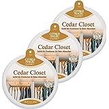 Citrus Magic Solid Air Freshener Cedar, Pack of 3, 8-Ounces Each,616472148