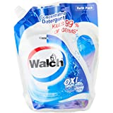 Walch Antibacterial Concentrated Laundry Detergent Refill, Lavender, 2 liters