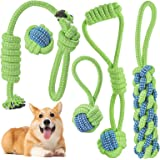 Dog Chew Toys for Puppy Medium Dogs Interactive Tug of War Toys for Playtime and Teeth Cleaning Durable Pet Dog Rope Toys for