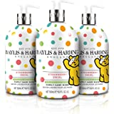 Baylis & Harding Children In Need Strawberry Swirl Limited Edition Hand Wash (Pack of 3)
