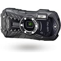 RICOH WG-70 03866 Black Ricoh Digital Camera Waterproof Up to 14M (2 Hours of Continuous…