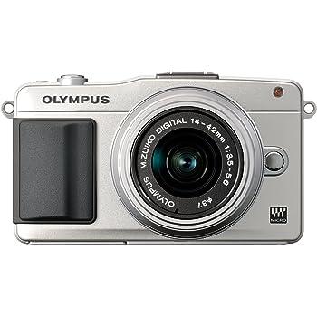 OLYMPUS ミラーレス一眼 PEN mini E-PM2 レンズキット シルバー E-PM2 LKIT SLV