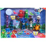 PJ Masks Deluxe 16Piece Figure Set -  Mailer