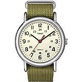 [タイメックス]TIMEX ウィークエンダー セントラルパーク クリーム×オリーブ T2N651 【正規輸入品】 [並行輸入品]