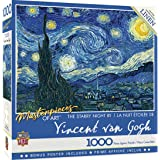 Masterpieces Masterpieces of Art Starry Night 1000 Pieces Puzzle