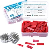 300 Pieces 2.5mm Pitch JST-SYP JST Connector Kit. 2.5mm Pitch Male and Female Pin Header, JST SYP - 2 Pin Housing JST Adapter