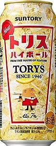 サントリー トリスハイボール [ ウイスキー 日本 500ml×24缶 ]