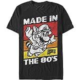 Nintendo Men's Raccoon Mario Made in The 80's T-Shirt