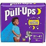Pull-Ups Boys' Nighttime Potty Training Pants Training Underwear, 3T-4T, 18 Ct