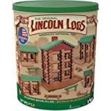 LINCOLN LOGS-Collector's Edition Village-327 Pieces-Real Wood Logs-Ages 3+ - Best Retro Building Gift Set for Boys/Girls-Crea