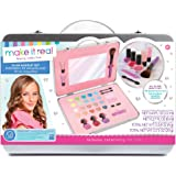 Make It Real - All-in-One Glam Makeup Set. Girls Makeup Kit is a Perfect Starter Cosmetic Set for Kids and Tweens. Includes C