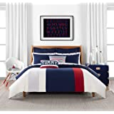 Tommy Hilfiger Clash of '85 Stripe Duvet Cover Set, Twin, Multi