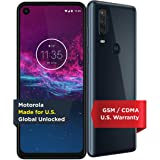 Motorola One Action   Unlocked   Made for US by Motorola   4/128GB   16MP Camera   Denim