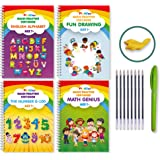 Magic Practice Copybook for Kids Reusable Writing Practice Book for Preschools That Can Be Reused Handwriting Calligraphy Cop