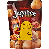 Calbee Spicy Jagabee Potato Stick Pouch, Spicy