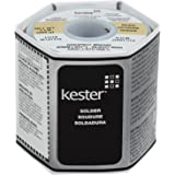 Kester 24-6337-8800 50 Activated Rosin Cored Wire Solder Roll 245 No-Clean 63/37 Alloy 0.031 Diameter