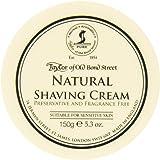 Taylor of Old Bond Street Natural Shaving Cream Bowl, 5.3 Ounce