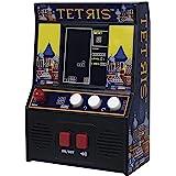 ベーシックファン テトリス ミニ アーケードゲーム 09594 正規品 ブラック 約 10 × 5 × 14.5 cm