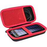 DeliToo 30000mAh ソーラーチャージャー 対応専用 保護収納ケース-Aenllosi (ブラック-1)