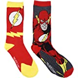 The Flash Men's Casual Crew Sock Set Pack of 2