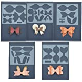 5 Set Bow Tie Cutting Dies Template for Card Making DIY Bow Craft and Gift Wrapping