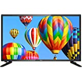 TEAC 23.6 in HD LED TV with DVD Combo, Black