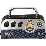 VOX Nutube搭載 ギター用 超小型 ヘッドアンプ MV50 Rock 驚きの軽量設計 50Wの大出力 アナログ回路 自宅練習 スタジオ ステージに最適 持ち運び アグレッシブなディストーションサウンド