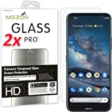 [2 Pack] MEZON Tempered Glass for Nokia 8.3 5G - Crystal Clear Premium 9H HD Screen Protector – Case Friendly, Shock Absorpti