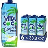 Vita Coco Coconut Water Original, 202.8 Fl Oz(Pack of 6)