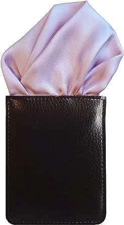 ポケットチーフ (フィックスポン) FixPon パッフド2 メンズ 無地 シルク