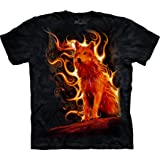 The Mountain Men's Phoenix Wolf T-Shirt