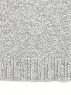5 Gauge Wool Crewneck Sweater 11-15-0683-103: Grey