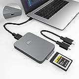 CFexpress Card Reader Type B USB 3.1 Gen 2 10Gbps CFexpress Reader Portable Aluminum CFexpress Memory Card Adapter Thunderbol